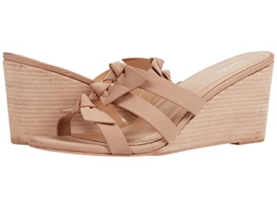 KAANAS Recife Wedge with Bows (Nude) Women