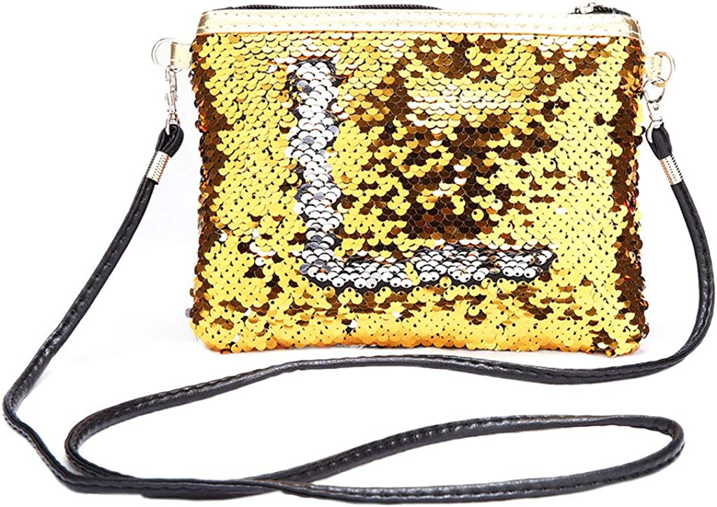 Don't miss the campaign Dsxnklnd Fashion Glitter Branded goods Sequin Small Makeup Bags Crossb Handbag