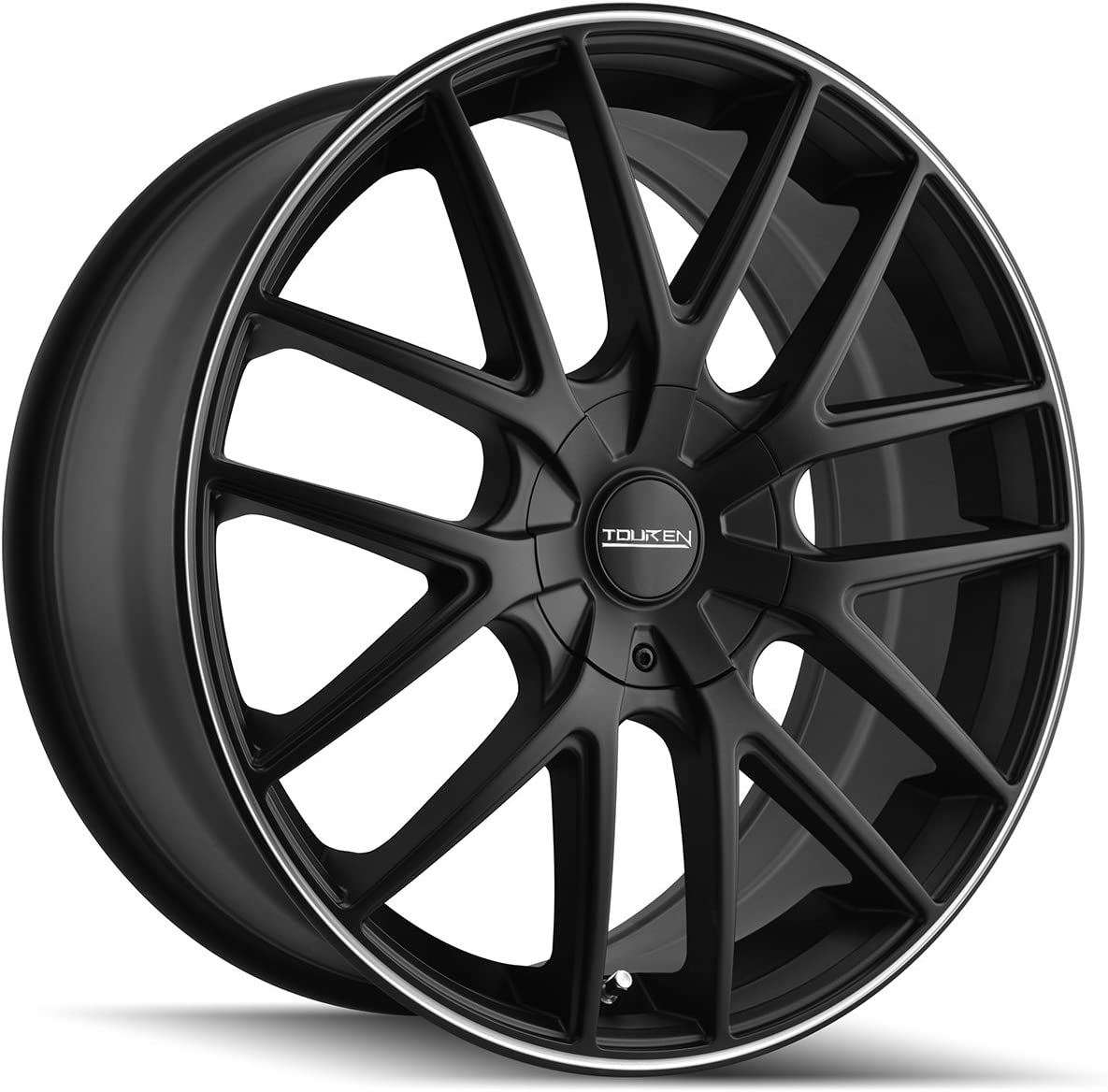 Touren TR60 3260 Matte Black Wheel Max 71% OFF with Ring Our shop OFFers the best service 5 Machined 20x8.5