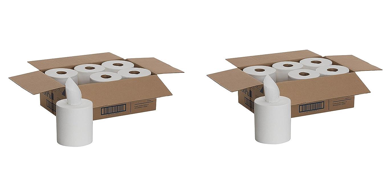 ペッカディロ男らしい蒸留SofPull Centerpull Regular容量紙タオルby GP Pro、ホワイト、28124、320?Sheets Per Roll、6巻1ケース(2ケース)