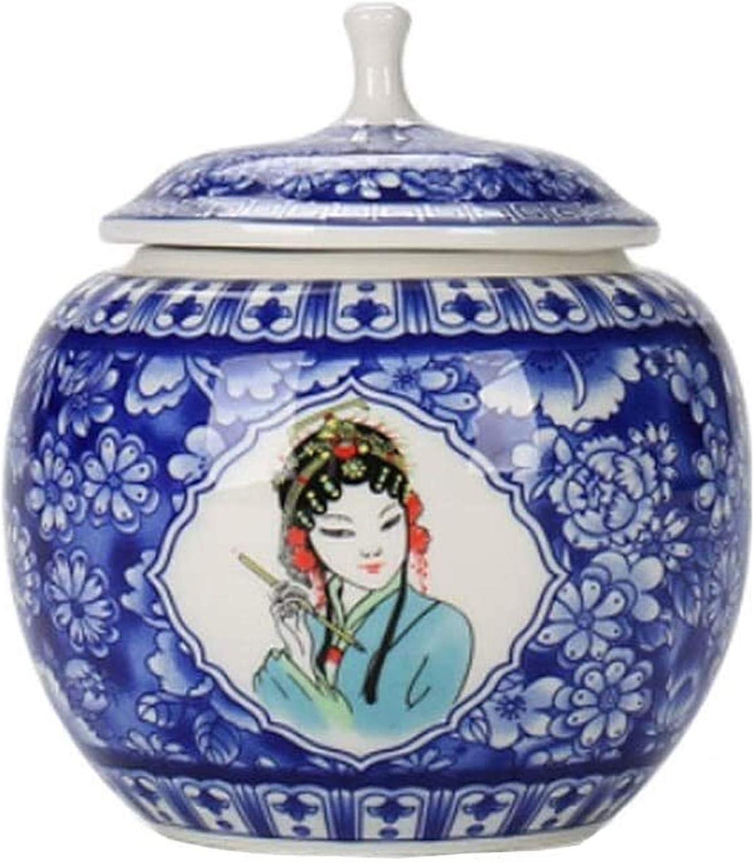 Ceramic New York Mall Loose Tea Jar with Sealing Detroit Mall Kitchen Ceram Lids Lid Sealed