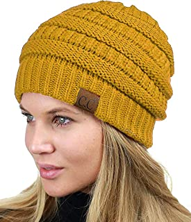 Volbeat Yellow Psychobilly Hard Rock Knitted Stretch Unisex Teen Beanie Beanies