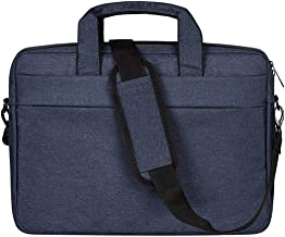 DJ01 Laptop Bag Liner Package Portable Briefcase Men And Women Polyester Fiber & Nylon Telescopic Handle(navy blue&15.6 inches)- FahionswanAE