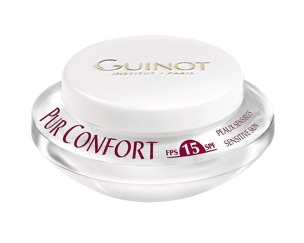 逆頂点位置づけるギノー Creme Pur Confort Comfort Face Cream SPF 15 50ml/1.6oz並行輸入品