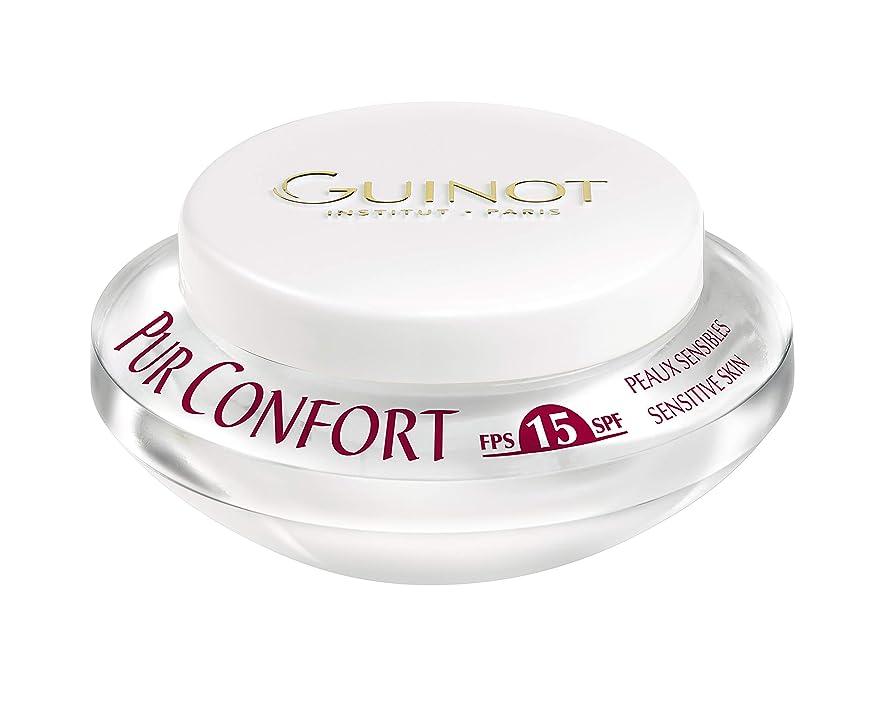 コインランドリー拡声器大惨事ギノー Creme Pur Confort Comfort Face Cream SPF 15 50ml/1.6oz並行輸入品