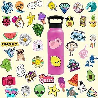 Vsco Girl Stickers for Hydro Flask, 50-Pack vsco Girl Stuff Waterproof Stickers for Teens, Water Bottle,Laptop,Phone,Guita...