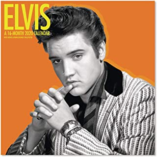 2020 Elvis Presley Wall Calendar (DDD3732820)