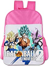 Zhenzhan Girls Schoolbag For Elementary School Water-Resistant Dragon Ball Xenoverse 2 Students Shoulder Bag