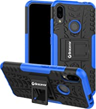 Bracevor Shockproof Hybrid Kickstand Back Case Defender Cover for Xiaomi Redmi Note 7 | Xiaomi Redmi Note 7 Pro | Redmi Note 7S - Blue