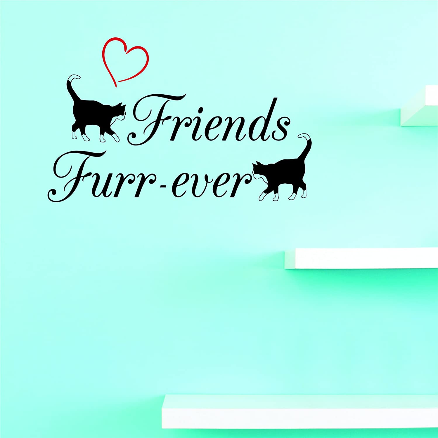 Milwaukee Mall Design with Vinyl JER 2201 2 Wa New Furr-ever Ranking TOP1 Decals Friends Hot