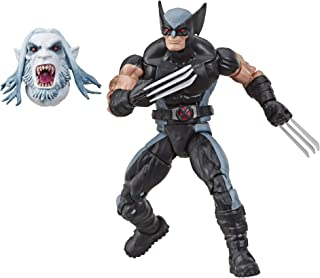 """Marvel Classic Hasbro Marvel Legends Series 6"""" Collectible Action Figure Wolverine Toy (X-Men/X-Force Collection) – with W..."""