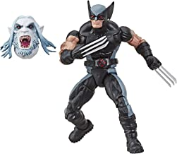 """Hasbro Marvel Legends Series 6"""" Collectible Action Figure Wolverine Toy (X-Men/X-Force Collection) – with Wendigo Build-A-Figure Part"""