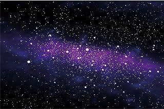GREAT ART Mural De Pared Cuarto De Los Niños – Estrella – Estrella – Órbita De La Vía Láctea Espacio Galaxia Universo Cosmos Foto Papel Tapiz Y Decoración 210 x 140 cm