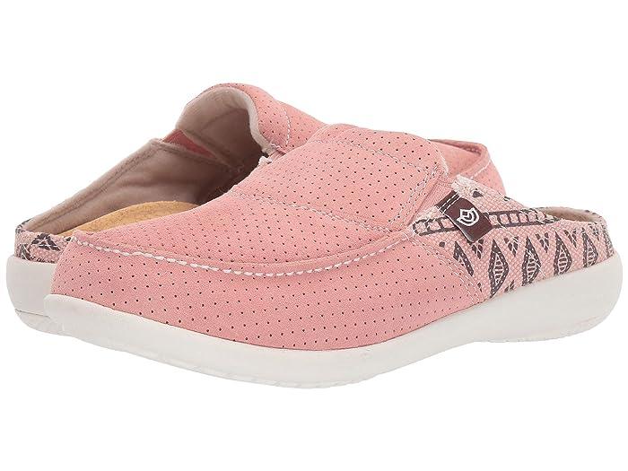Spenco  Siesta Slide Arizona (Coral) Womens Shoes