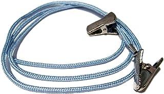 ATLanyards Light Blue Paracord Eyeglass Holder with Clips, Eyeglass Lanyard Clip 364