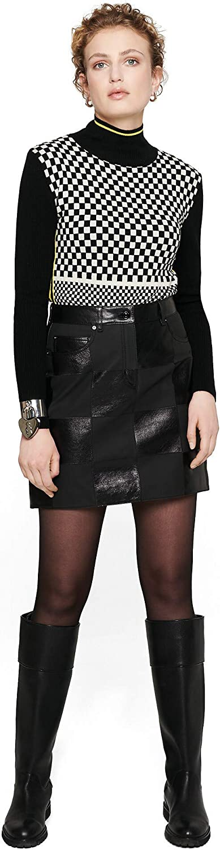 Escada Womens Black Mini Pencil Skirt Size 40