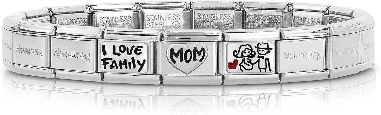 Nomination Women's 33910620 Silver Steel Bracelet