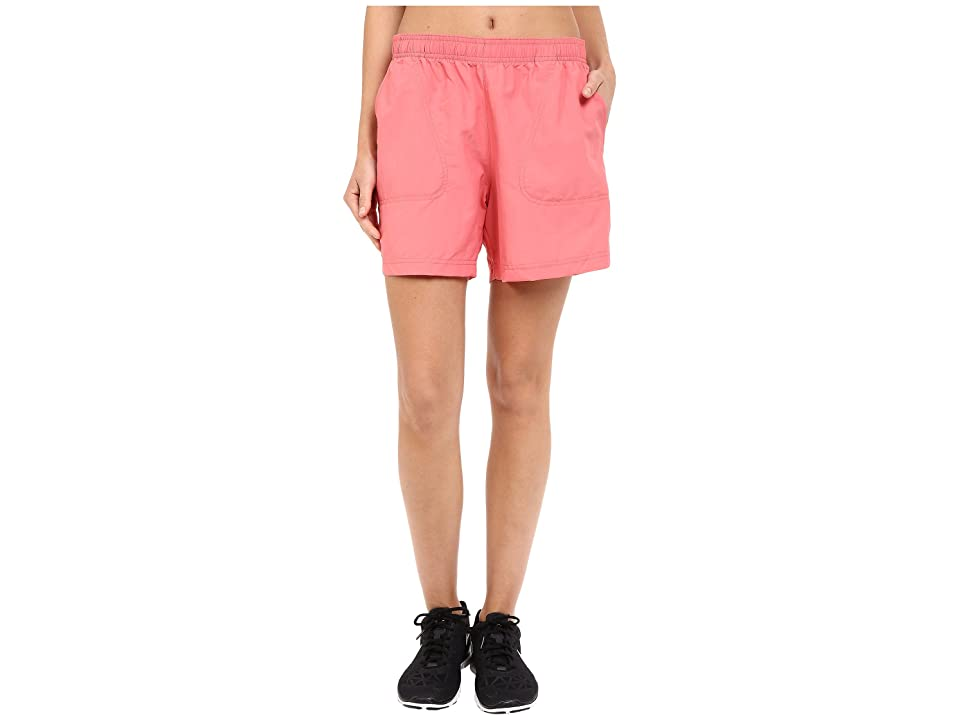 Columbia Sandy Rivertm Short (Coral Bloom) Women