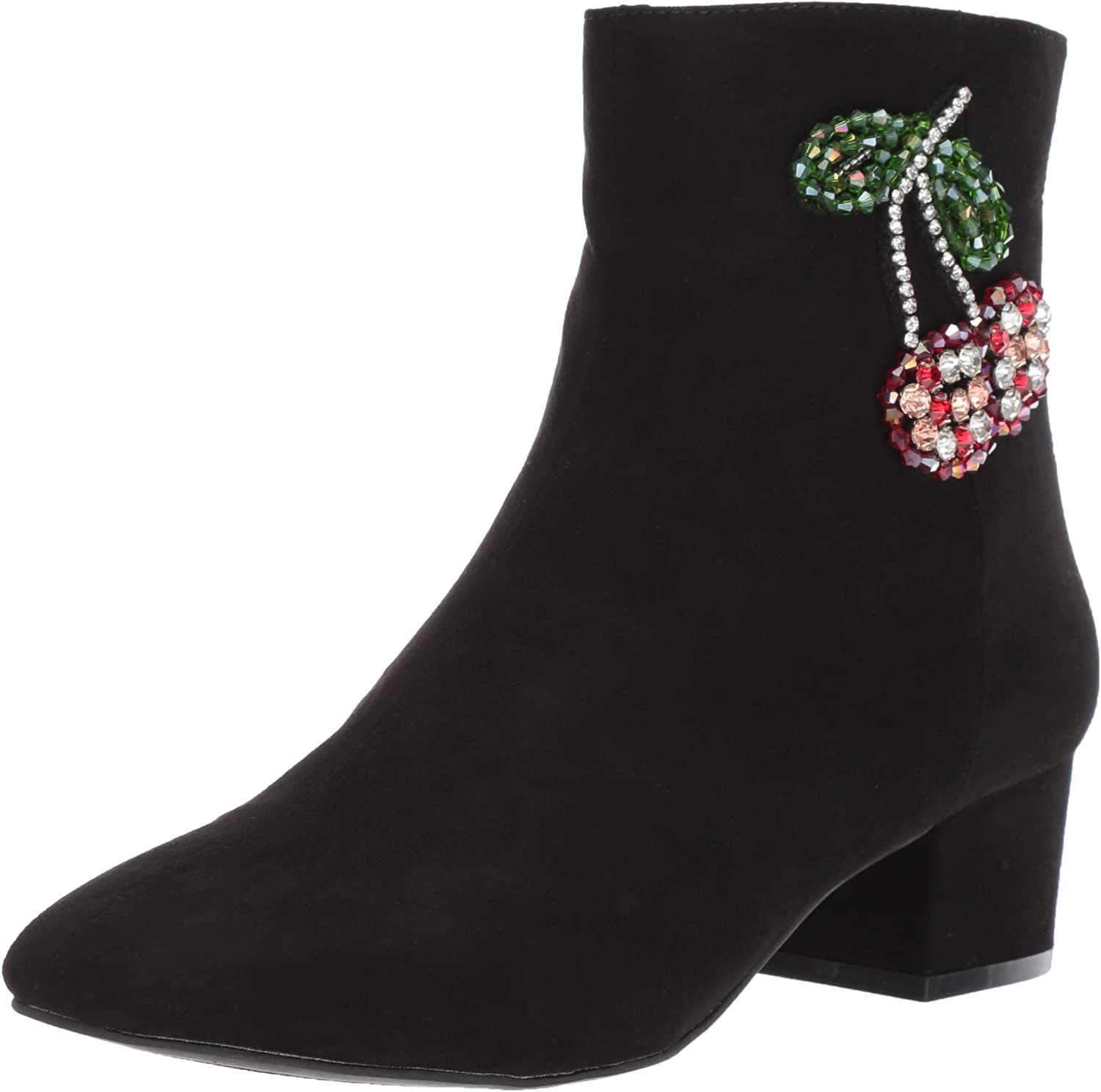 Betsey Johnson Womens Basil Ankle Boot