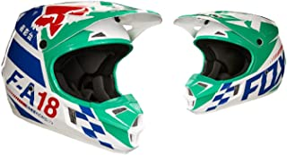 2018 Fox Racing Youth V1 Sayak Helmet-Green-YS