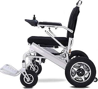 RDJM Ultralichte opvouwbare elektrische rolstoel met polymeer Li-Ion batterij, vrije rijden, elektrische rolstoel
