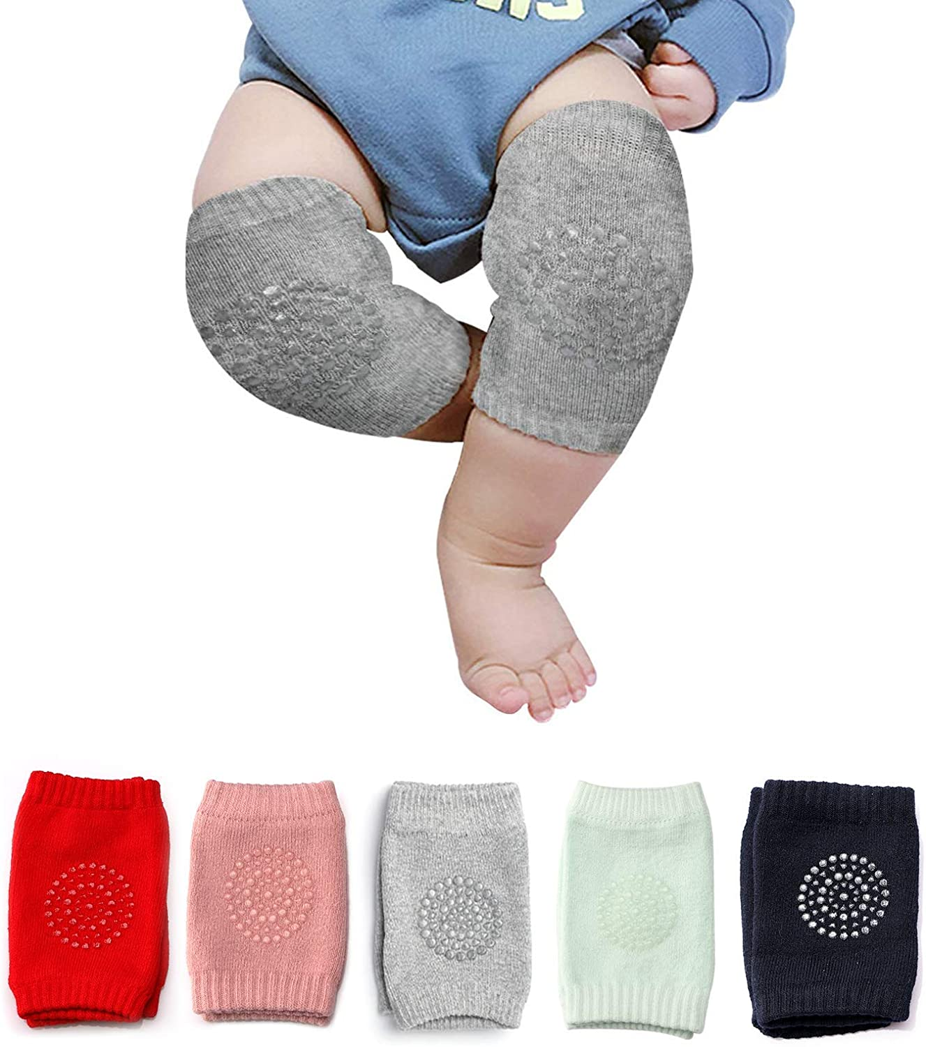 Baby Crawling Pads Anti-Slip Knee Protect Baby's Knee for Crawling