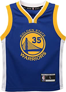NBA Golden State Warriors Toddler Outerstuff Replica Road Player Jersey, Kevin Durant, 2T