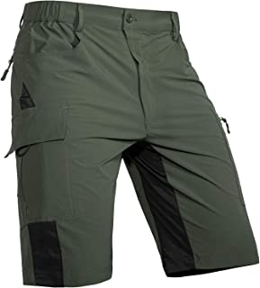 Cycorld-Men's-Outdoor-Hiking-Shorts-Quick-Dry-Lightweight Stretchy for Cargo Casual Climbing Camping