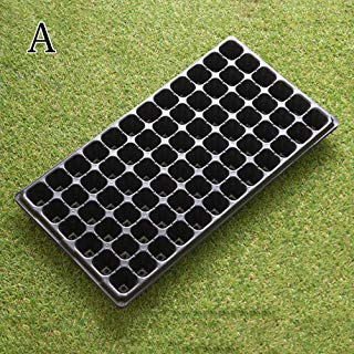 Kayueti Seedling Starter Trays - 3 Pack 72 Cell Seed Starter Tray, Seed Planting Insert Plug Tray for Planting Seedlings, Propagation, Germina, Sold (72 Cell)