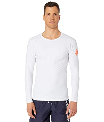 Vilebrequin Takeoff Tortue Rashguard (White) Men