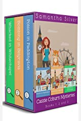 Cassie Coburn Mysteries Books 1, 2 and 3 Boxed Set: A British Cozy Mystery Series (English Edition) Format Kindle