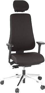 Hjh Office PRO-TEC 400 Silla de oficina Negro (Black) 52x56x133 cm