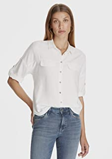 Cepli Beyaz Gömlek