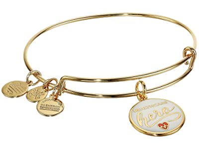 Alex and Ani Color Infusion Healthcare Hero (Shiny Gold) Bracelet