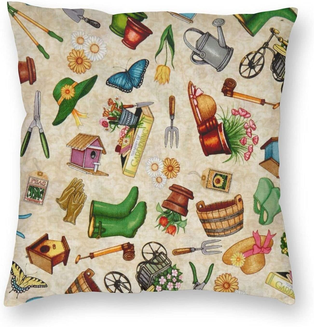 Limited time cheap sale We Grow Everything Gardening Covers Cushion Throw Credence Pillow