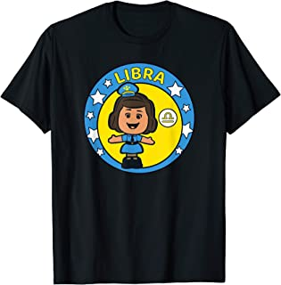 Toy Story 4 Officer Giggle McDimples Libra Zodiac T-Shirt
