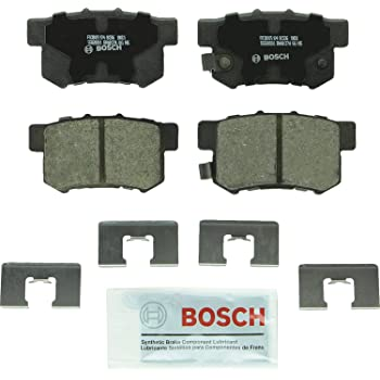 Disc Brake Pad Set-Quietcast Pads with Hardware Rear Bosch BP1313