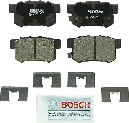 Bosch BC536 QuietCast Premium Ceramic Disc Brake Pad Set For Select Acura CL, EL, Integra, Legend, RDX, RL, TL; Honda CR-V, Element, Odyssey; Isuzu Oasis; Rear