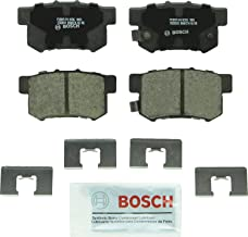 Bosch BC536 QuietCast Premium Ceramic Disc Brake Pad Set For Select Acura CL, EL, Integra, Legend, RDX, RL, TL; Honda CR-V, Element, Odyssey; Isuzu Oasis; Rear