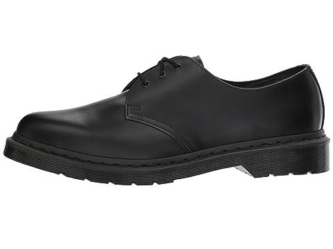 1461 3 suave Martens Dr Tie negro Zapato 5PwUTvqTx