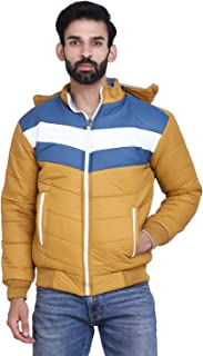 TAANI FAB CREATIONS Stand Collar Full Sleves Zipper Reversible Solid Jacket For Men and Boys