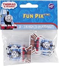 Wilton 2113-4243 Thomas and Friends Fun Cupcake/Cake Pix, 24-Pack