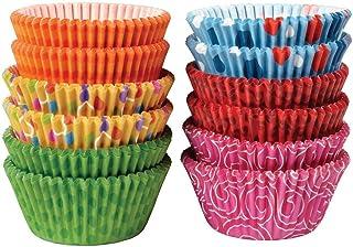 cupcake paper - 600 pcs (different colours) 100 pcs/colour