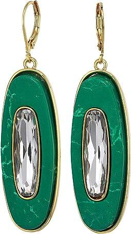 Gold/Crystal/Green Jasper