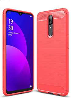 Boleyi Case for Oppo F11, [Anti-Slip] [Ultra-Thin] [Durable] TPU Cover Phone Case, for Oppo F11 Cover -Red