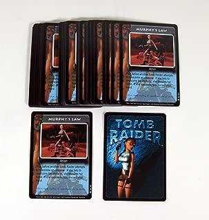 Lot of (50) 2000 Precendence Lara Croft Tomb Raider CCG Promo Card (#226) Nm/Mt