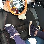 Butika Kindersitzunterlage Für Auto Gratis Trittschutz Premium Sitzschoner Und Rückenlehnenschutz Isofix Geeignet Autositzschoner Neu Schwarz Baby