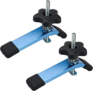 """POWERTEC 71168 T-Track Hold Down Clamps, 5-1/2"""" L x 1-1/8"""" Width – 2 Pack"""