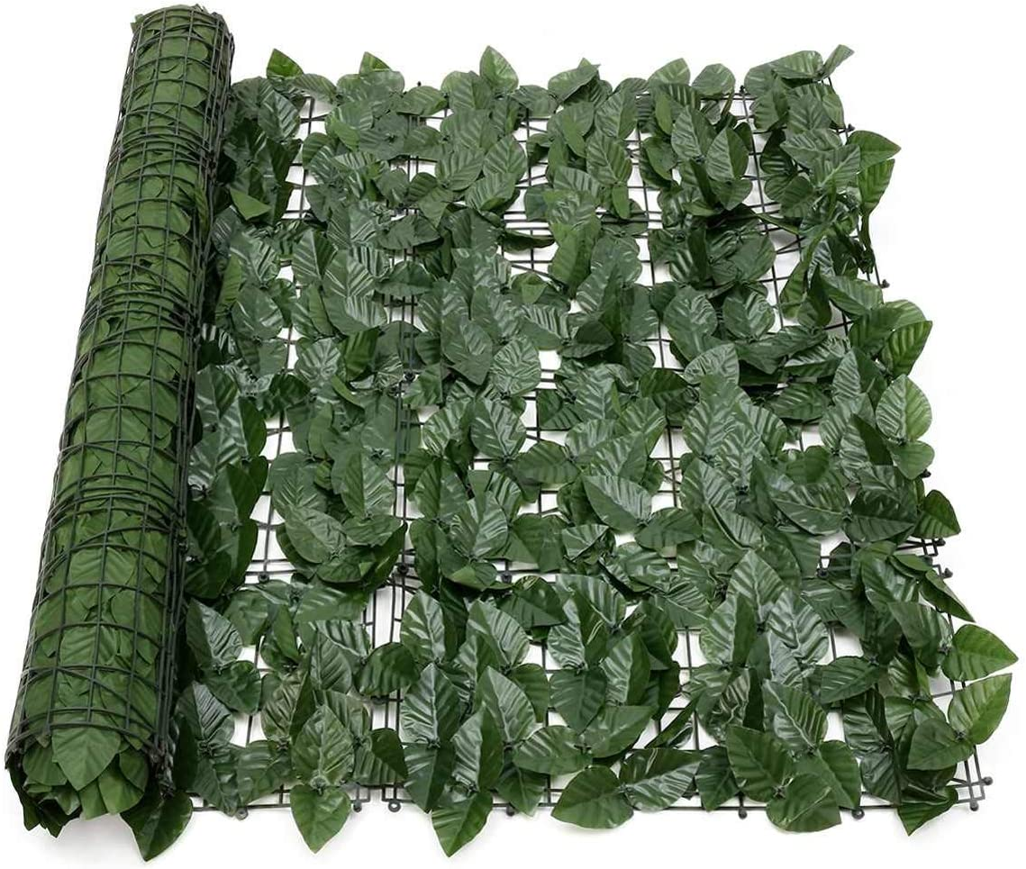 Choice uyoyous Super sale period limited Artificial Ivy Privacy Fence 39.3x118in Artificia Screen