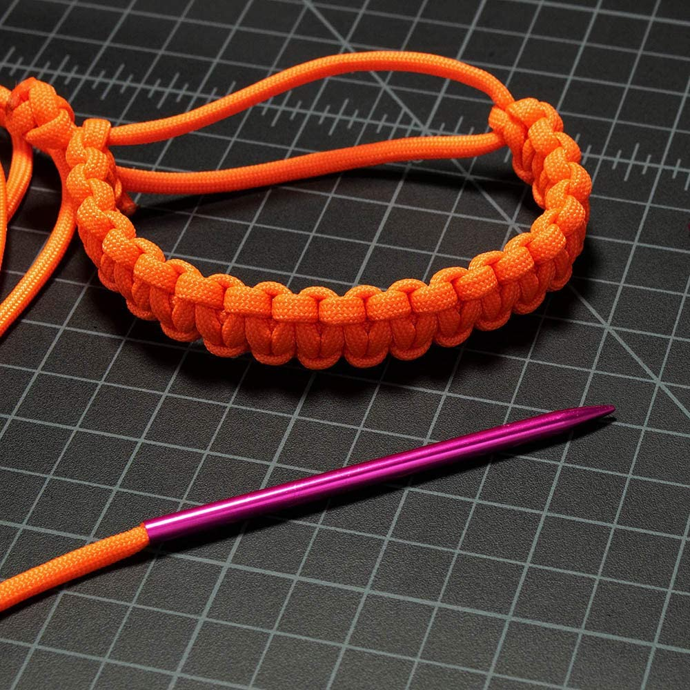 3 Inches in Length Aluminum Paracord FID Stitching Needles Silver PARACORD PLANET Lacing and Weaving Original Color